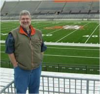 Jim at BG Stadium