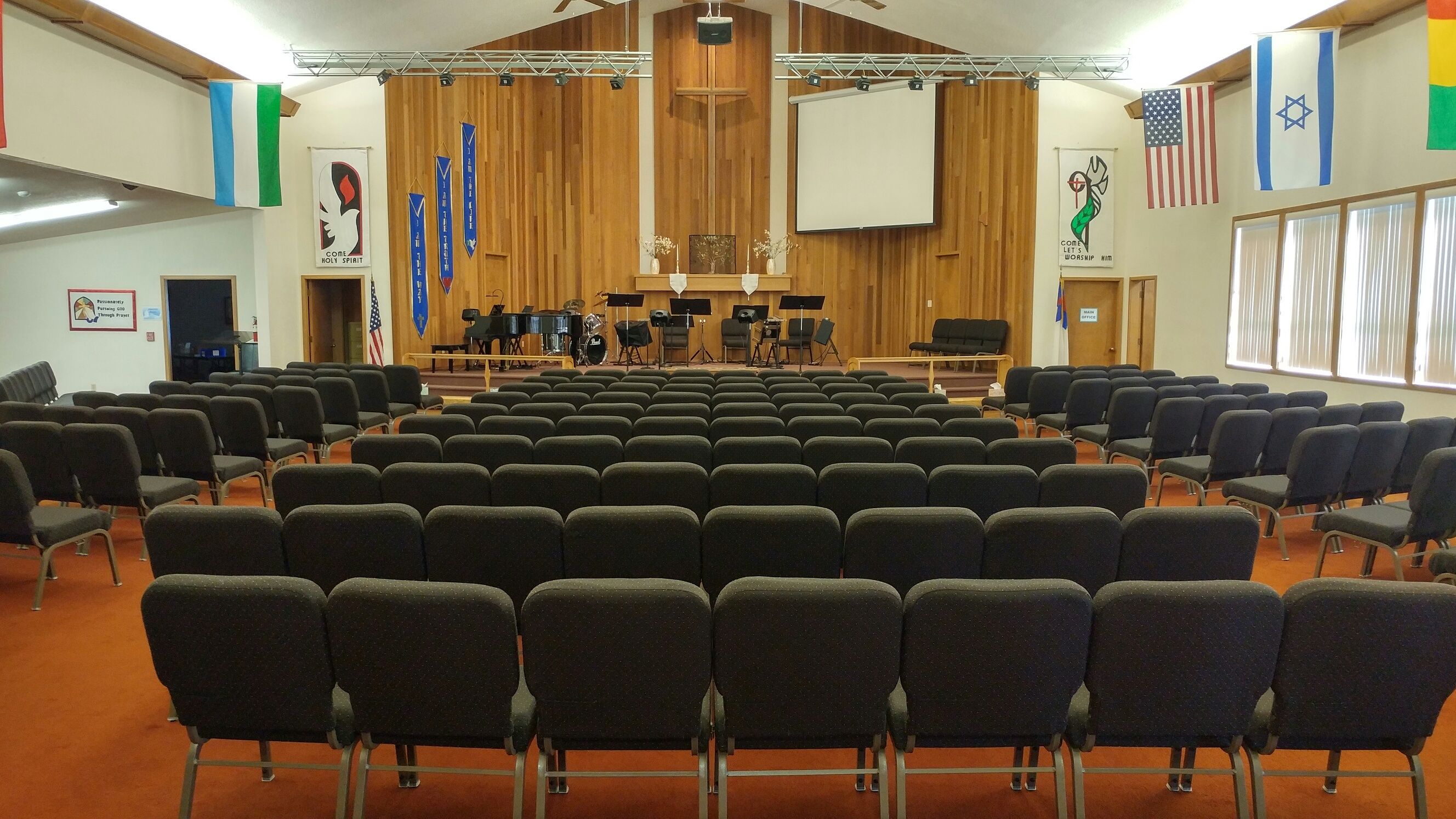 Sanctuary New Chairs – West Valley Missionary Church